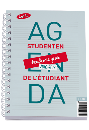 Guido Studentenagenda 2016-2017