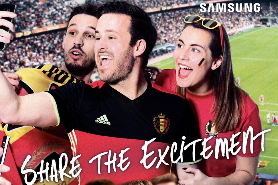 Samsung voetbal Samsung voetbal