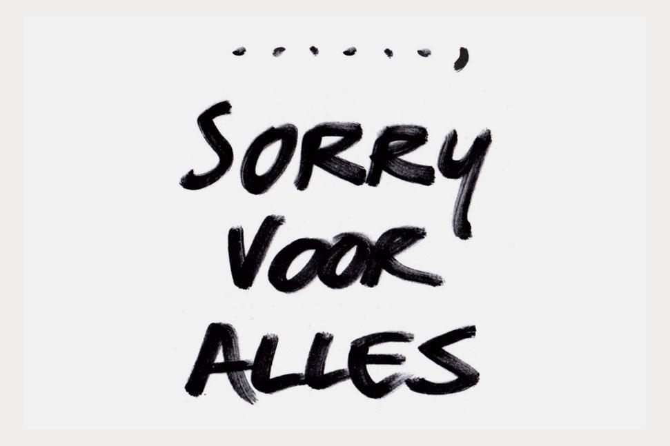 Sorry voor alles Sorry voor alles